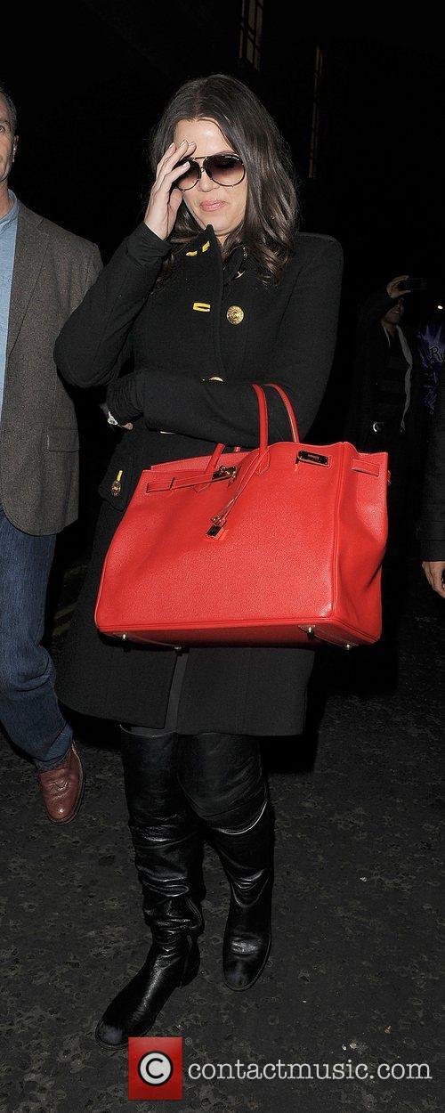 Khloe Kardashian, Kim Kardashian, Hakkasan, Tottenham Court Road. The and Sainsbury 13