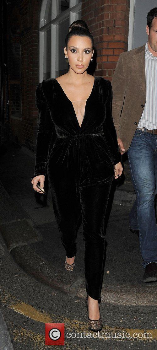 Kim Kardashian, Hakkasan, North London and Kayne West 12