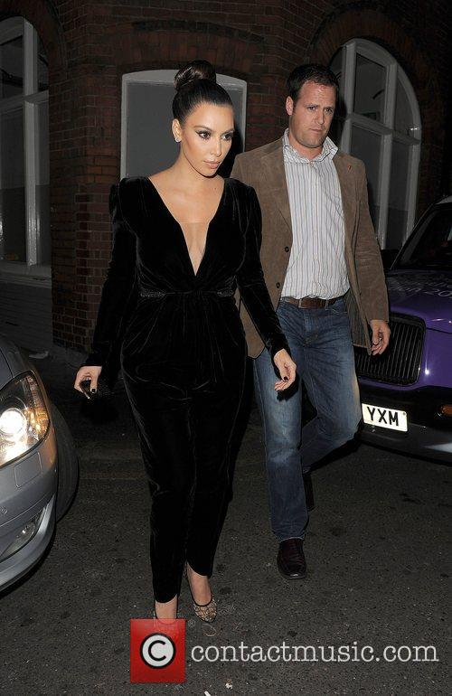 Kim Kardashian, Hakkasan, North London and Kayne West 3