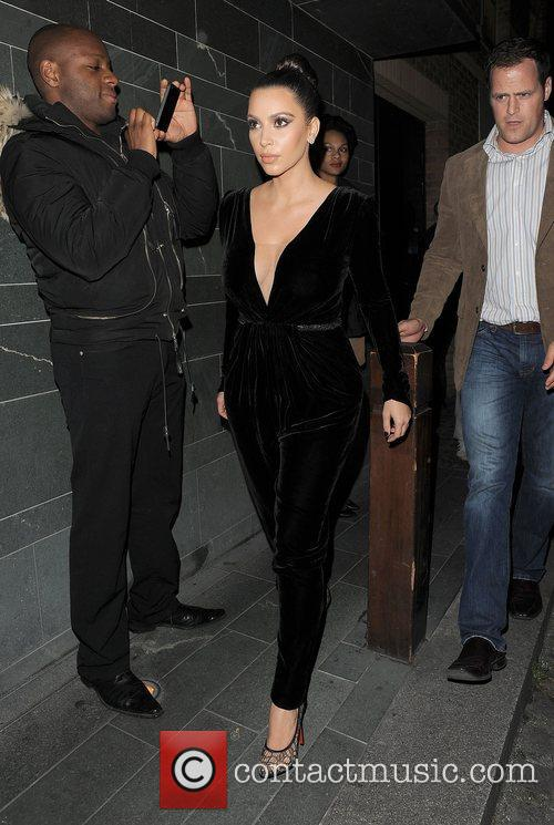 Kim Kardashian, Hakkasan, North London and Kayne West 8