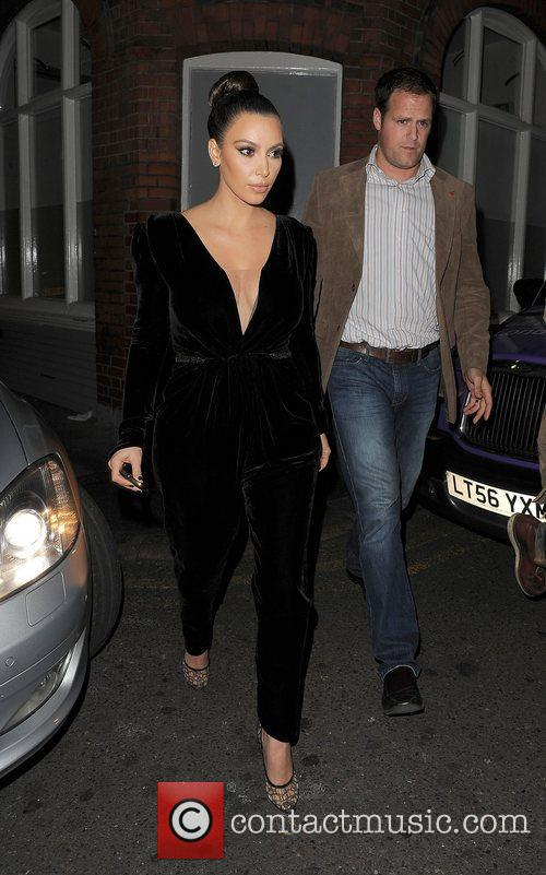 Kim Kardashian, Hakkasan, North London and Kayne West 11