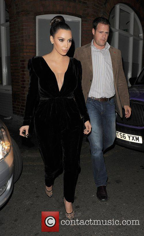 Kim Kardashian, Hakkasan, North London and Kayne West 5