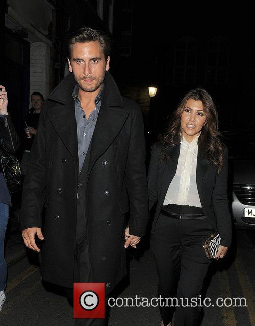Scott Disick, Kourtney Kardashian, Hakkasan, Tottenham Court Road. The and Sainsbury 5