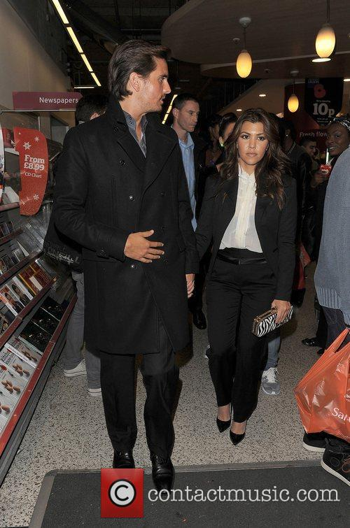 Scott Disick, Kourtney Kardashian, Hakkasan, Tottenham Court Road. The and Sainsbury 2