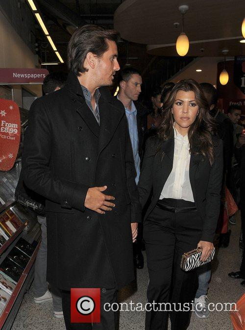Scott Disick, Kourtney Kardashian, Hakkasan, Tottenham Court Road. The and Sainsbury 3