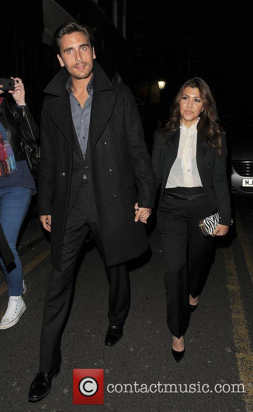 Scott Disick, Kourtney Kardashian, Hakkasan, Tottenham Court Road. The and Sainsbury 4