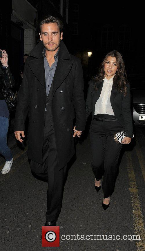 Scott Disick, Kourtney Kardashian, Hakkasan, Tottenham Court Road. The and Sainsbury 1