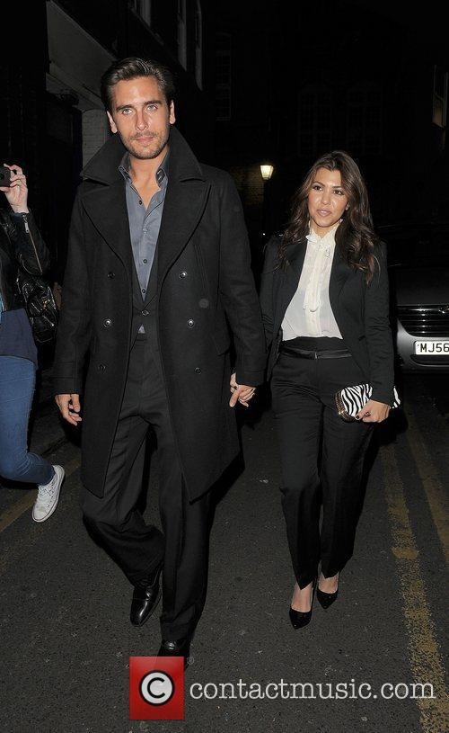 Scott Disick, Kourtney Kardashian, Hakkasan, Tottenham Court Road. The and Sainsbury 6