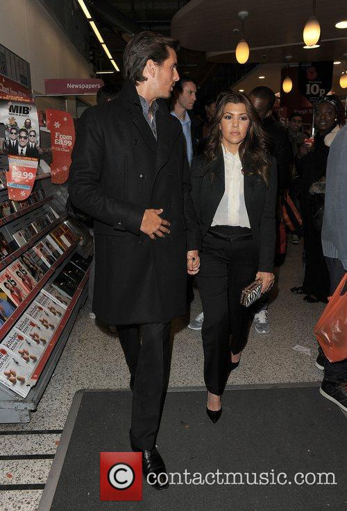 Scott Disick, Kourtney Kardashian, Hakkasan, Tottenham Court Road. The and Sainsbury 7