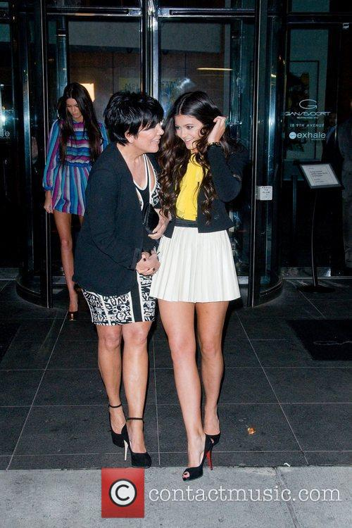 Kris Jenner and Kendall Jenner 1