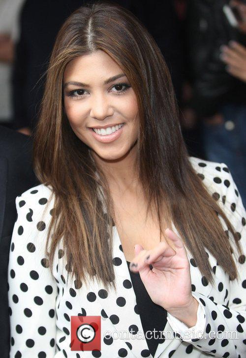 Kourtney Kardashian leaving her hotel London, England