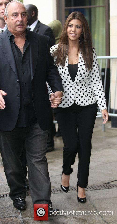 Sir Philip Green and Kourtney Kardashian 2