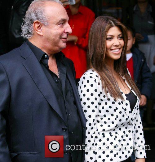 Sir Philip Green and Kourtney Kardashian 1