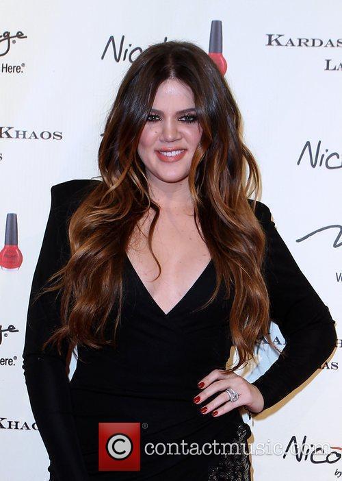 The Kardashian family celebrates the grand opening of...