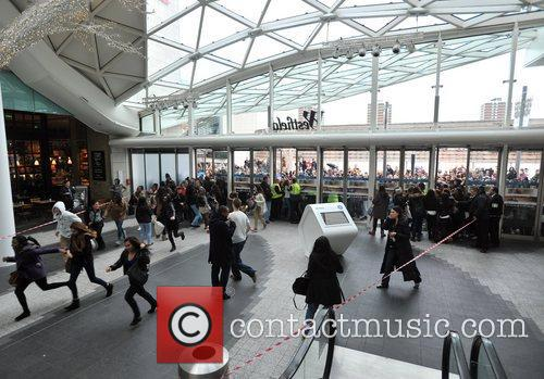 Police, Kardashian Sisters, Westfield London and Kardashian Kollection 1