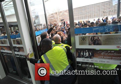 Police, Kardashian Sisters, Westfield London and Kardashian Kollection 12