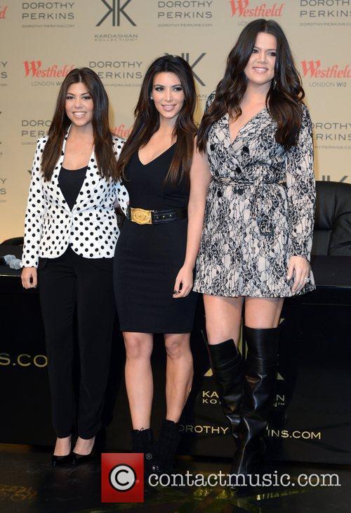 Kourtney Kardashian, Khloe Kardashian Odom, Kim Kardashian