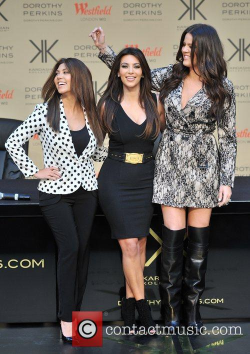 Khloe Kardashian Odom, Kim Kardashian, Kourtney Kardashian The...