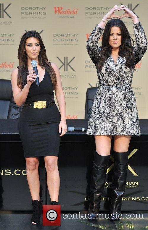 Kim Kardashian and Khloe Kardashian  The Kardashian...