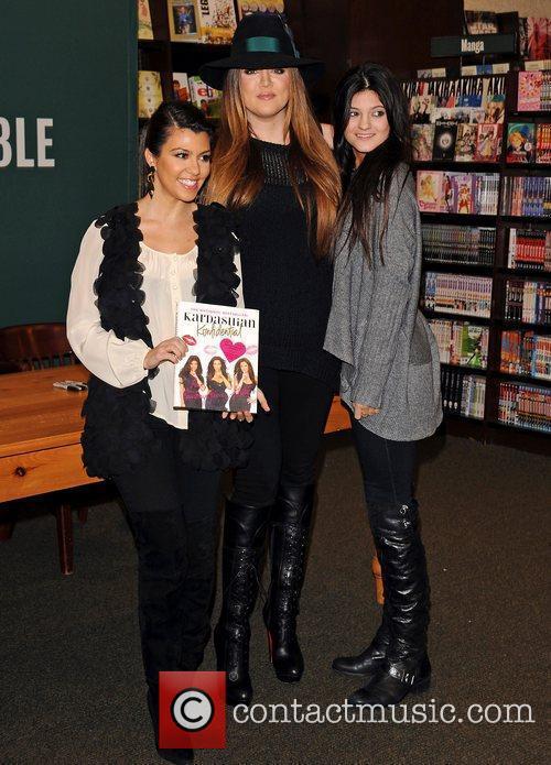 Kourtney Kardashian, Khloe Kardashian and Kylie Jenner Kourtney...