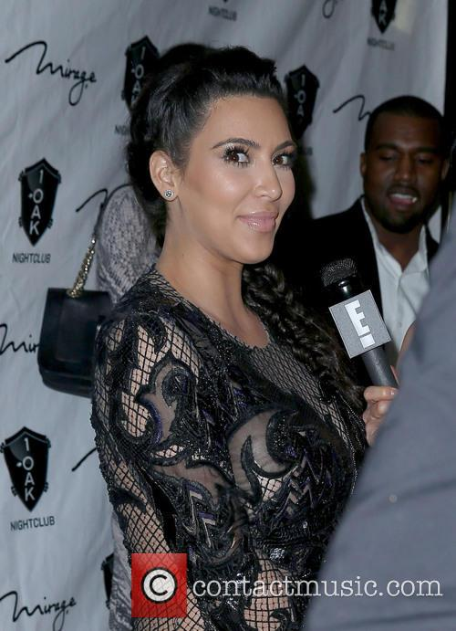 Kim Kardashian Kim Kardashian and Kanye West out...