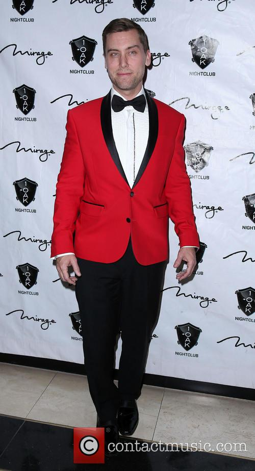 Lance Bass At 1 Oak Nightclub at The...