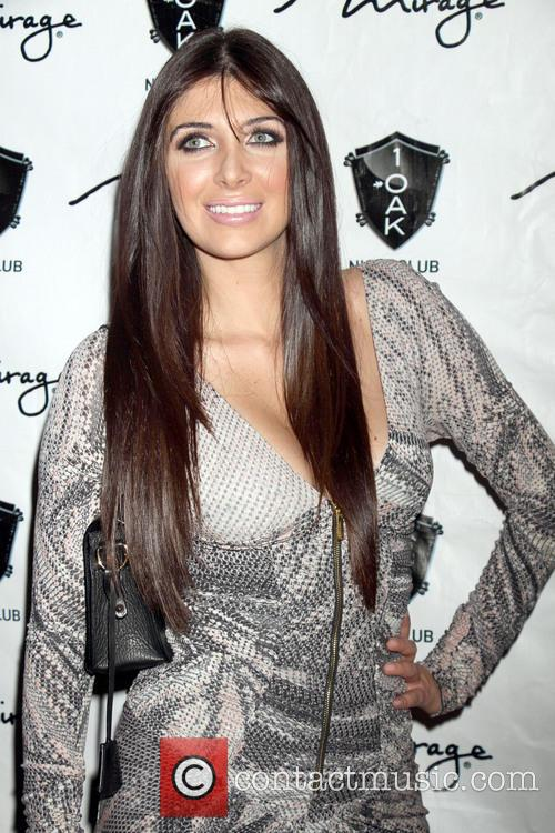 Brittny Gastineau New Year Eve party at 1...