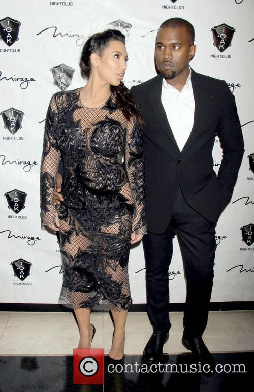 Kim Kardashian and Kanye West 3