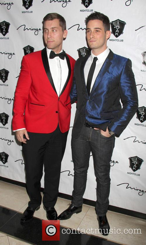Lance Bass; Michael Turchin New Year Eve party...