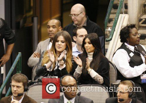 Khloe Kardashian and Kim Kardashian 10
