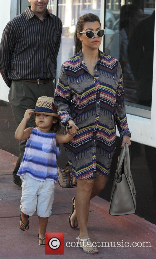 Kourtney Kardashian and Mason Disick 3