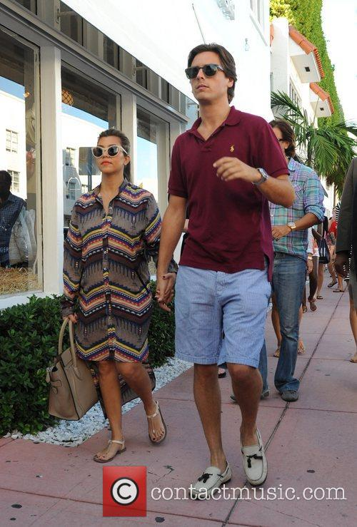 Scott Disick and Kourtney Kardashian 2