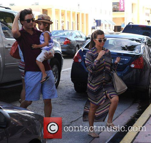 Scott Disick, Mason Disick and Kourtney Kardashian 6