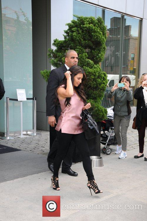 Kim Kardashian and Manhattan Hotel 1