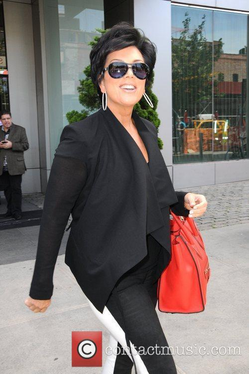 Kris Jenner is seen departing from her Manhattan...