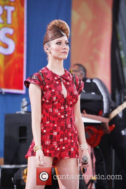 Karmin performs live in Central Park as part...
