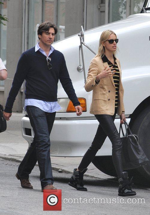 Model Karolina Kurkova and husband Archie Drury seen...