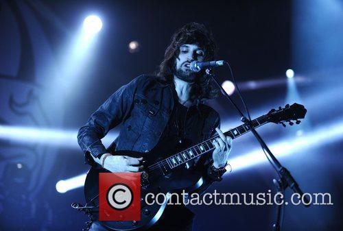 sergio pizzorno of kasabian performing at the 3762612