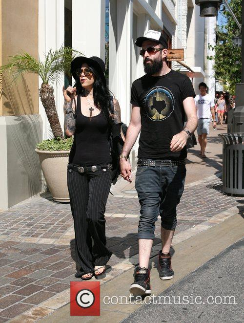 Kat Von D and her new boyfriend, English...