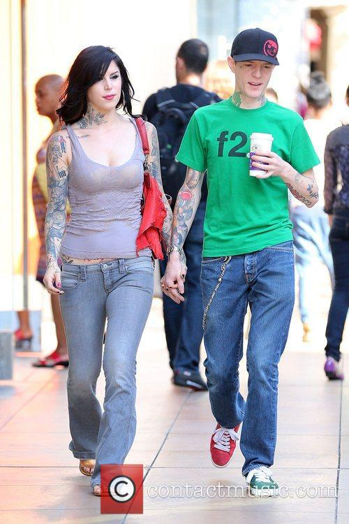 Kat Von D and Joel Thomas Zimmerman 3