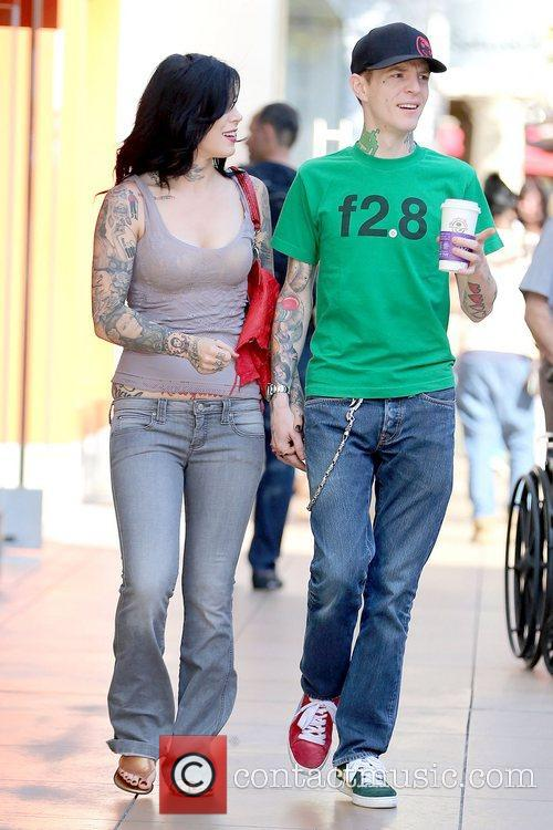 Kat Von D and Joel Thomas Zimmerman 6