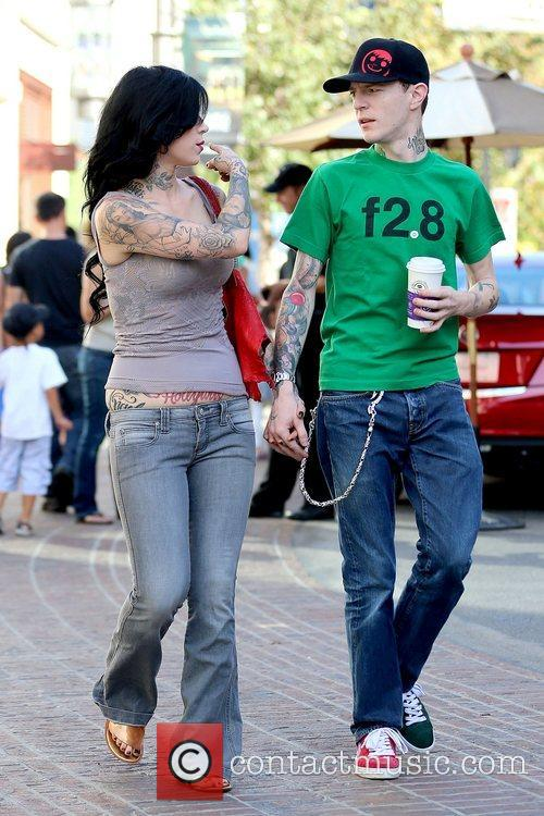 Kat Von D and Joel Thomas Zimmerman 4