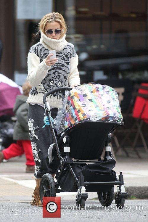 Kate Hudson out and about in North London...