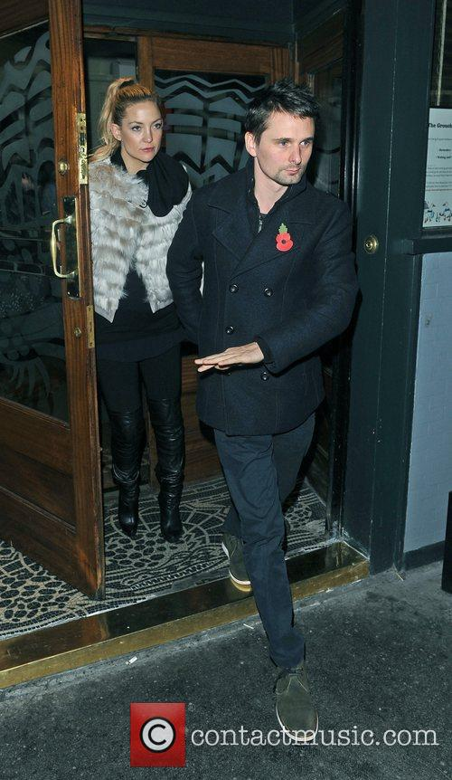 Matthew Bellamy, Kate Hudson and Groucho Club 2