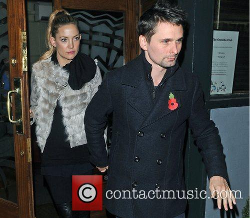 Matthew Bellamy, Kate Hudson and Groucho Club 5