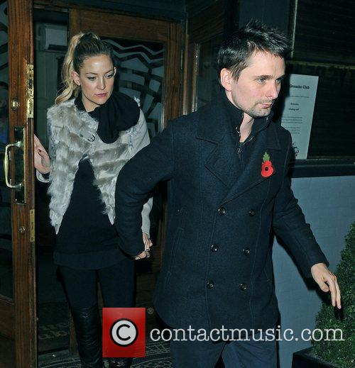 Matthew Bellamy, Kate Hudson and Groucho Club 6