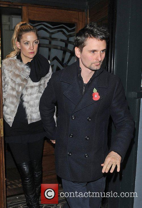 Matthew Bellamy, Kate Hudson and Groucho Club 7