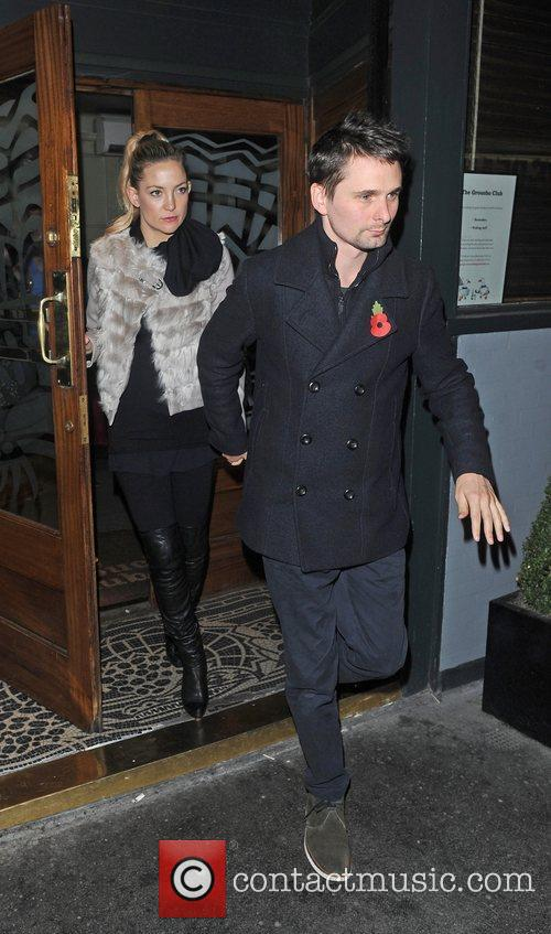 Matthew Bellamy, Kate Hudson and Groucho Club 4