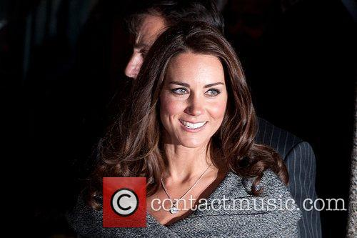 Catherine Duchess of Cambridge ( Kate Middleton) arrives...