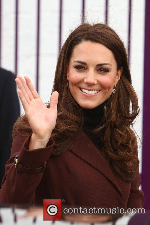 Catherine, Duchess of Cambridge aka Kate Middleton arriving...
